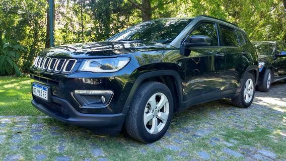 Jeep Compass Sport 2.4. Está A Nuevo, Vidrios Antibandálico.