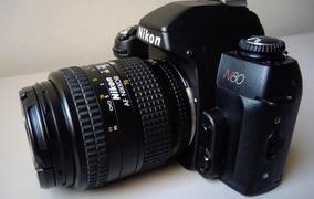 Câmera Nikon N80 + Lente Nikkor Af 28-70mm + Kit