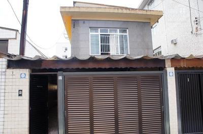 Casa Residencial À Venda, 3 Dormitórios, 2 Suítes, Churrasqueira, Piscina, Quintal, Campo Grande, Santos. - Ca0344