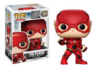 Figura Muñeco Funko Pop La Liga Justicia The Flash 208 Orig