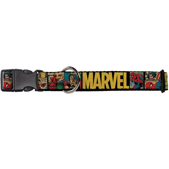 Buckle-down 9-15 Marvel Comics Collar, Small