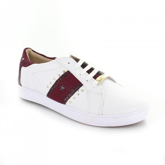 Tenis Para Mujer Redberry 5205-049685 Color Blanco