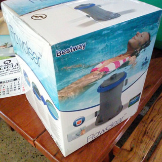 Filtro Para Pileta Flowclear + Barrefondo - Bestway