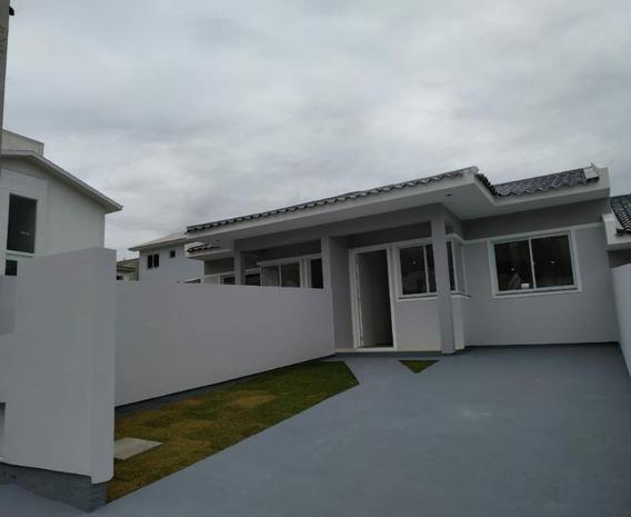 Casa Em Bela Vista, Palhoça/sc De 50m² 2 Quartos À Venda Por R$ 165.000,00 - Ca400190