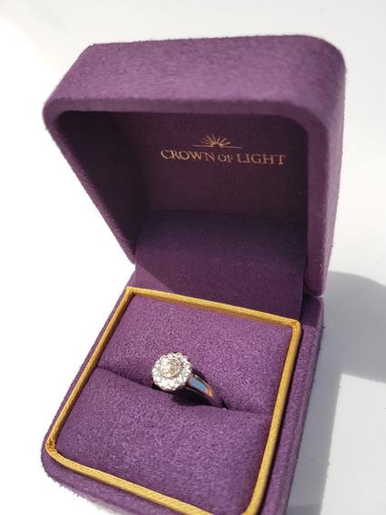 Anillo Diamantes Nuevo Hermoso Único Crown Of Light
