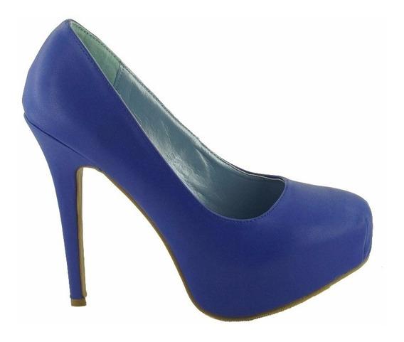 Zapatillas Importadas Promise Modelo Camino Azul