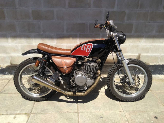 Cafe Racer Scrambler Suzuki Dr 250 Modificada Impecable - Rv