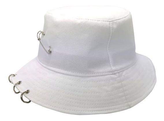 Gorro Bts Bucket 2 Aros Blanco Gorra Seguro Kpop Coreano
