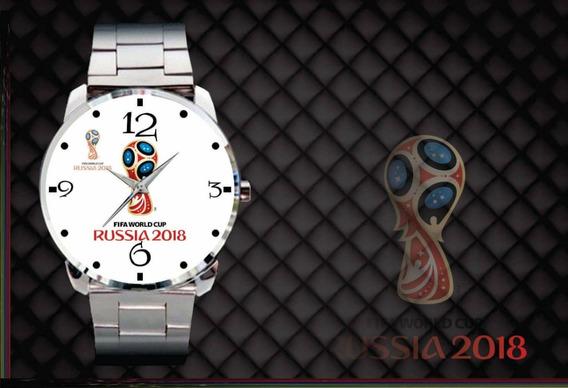 Relógio Pulso Personalizado Taça Copa Do Mundo 2018 Russia B