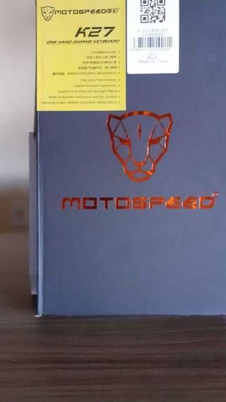 Teclado Mão Única Motospeed K27 Mecânico