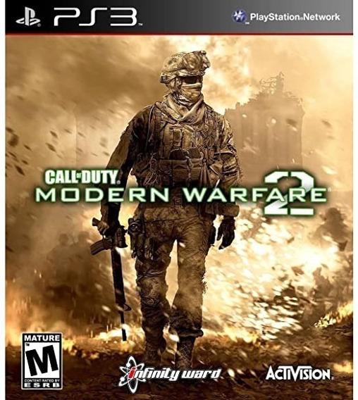 Jogo Call Of Duty Modern Warfare 2 Playstation 3 Ps3 Usado