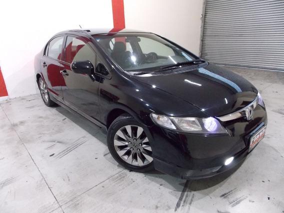 Honda Civic Lxs 1.8 Automatico Aprovado Com Restricao