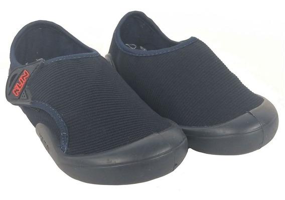 Tenis Klin New Confort Azul Escuro