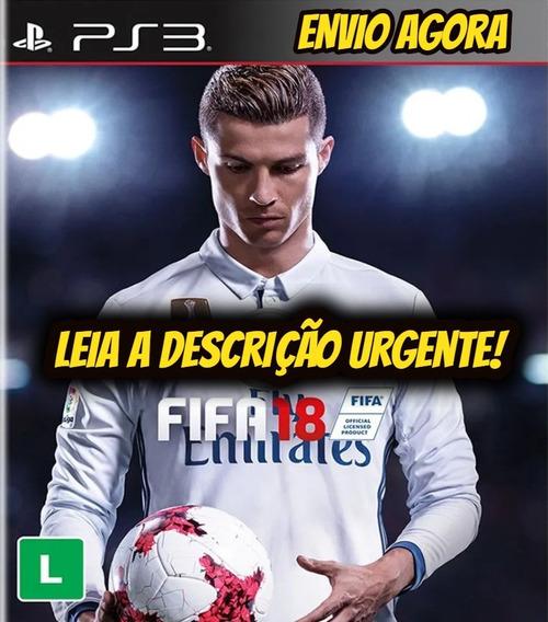 Fifa 18 Ps3 Digital Psn Envio Rápido Original