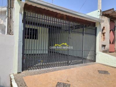 Casa Com 3 Dormitórios Para Alugar, 80 M² Por R$ 750/mês - Jardim Das Orquídeas - Santa Bárbara D