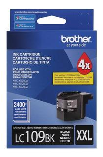 Cartucho Tinta Color Negro Brother Lc109bk Xxl