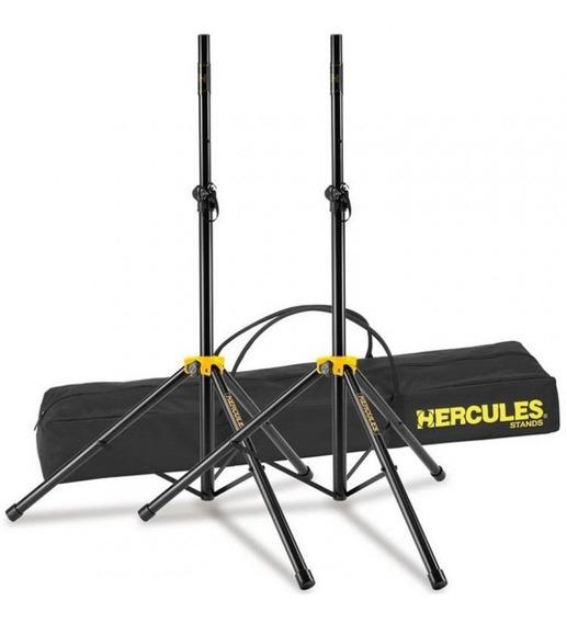Kit 2 Pedestal Suporte Tripe Caixa De Som Acustica Hercules