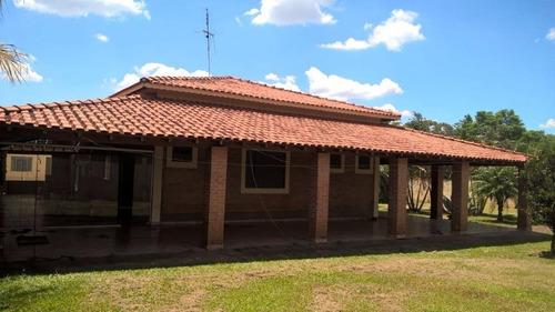 Chácara Residencial À Venda, Santa Rita, Piracicaba. - Ch0041