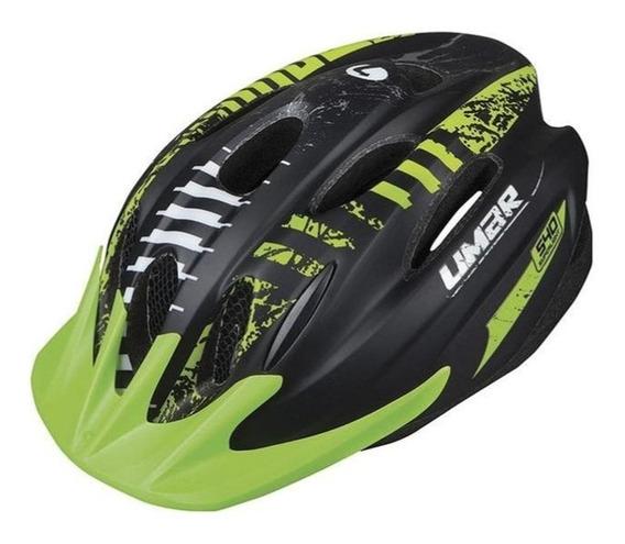 Casco Para Bicicleta Mtb Limar 540 Verde Mate