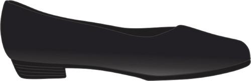 Imagem 1 de 3 de Uniforme Colégio Mil.:sapato Fem. Salto Baixo Largo 1,5cm