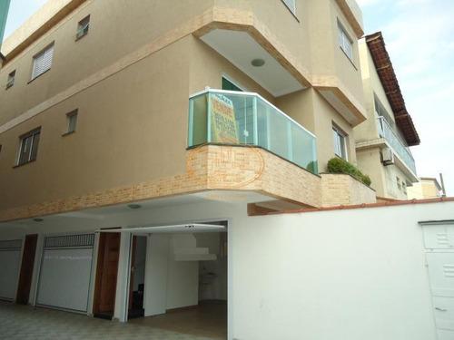Casa  Com 2 Dormitório(s) Localizado(a) No Bairro Vila São Jorge Em Santos / Santos  - 5576