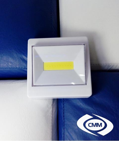 Luminária Cob Led 3w Pilha Sem Fio Switch Light