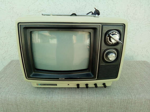 Televisor Portátil Marca Semp 10 Polegadas Anos 70