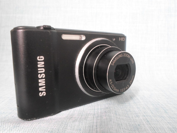 Máquina Câmera Digital Samsung St64 St 64 Preta