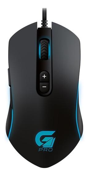 Mouse Gamer Com Macro Fortrek Pro M7 Usb 4800 Dpi Rgb Preto