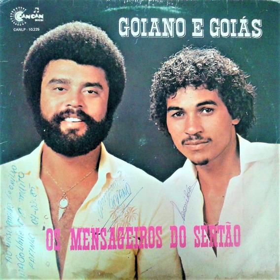 Lp Vynil Goiano E Goiás - Os Mensageiros Do Sertão