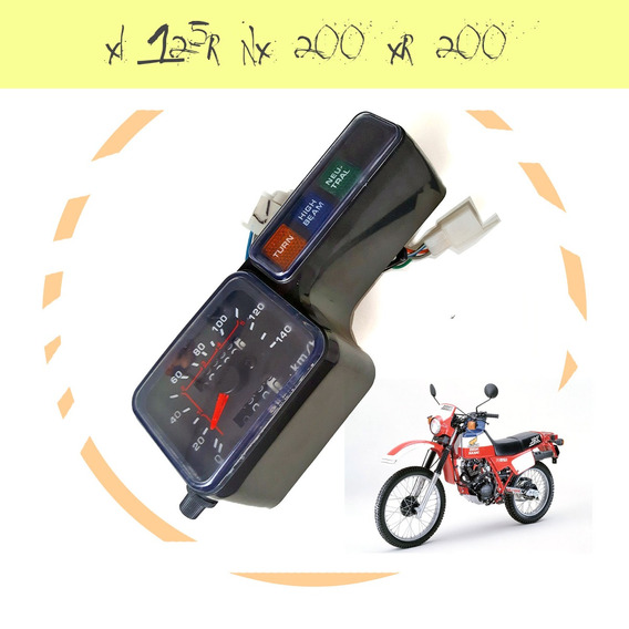 Painel Completo Xlr 125 1999 Alta Qualidade C/ Nota Fiscal