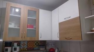 Armario De Cozinha Em L Aéreo 3 Peças Mdf