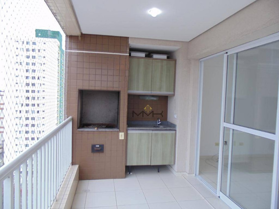 Bella Vita - Santos/sp - Varanda Gourmet - Apartamento Residencial À Venda, Encruzilhada, Santos - Ap0568. - Ap0568