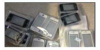 Tela Visor Vidro Originai iPhone 5 5c E 5s Lote Com 100 Unds