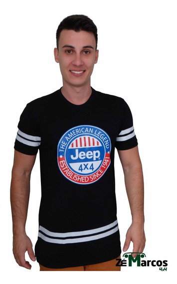 Camisa Masculina Long Jeep Willys Eua
