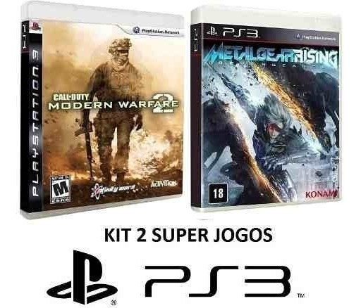 Call Of Duty Modern Warfare 2 + Metal Gear Rising - Ps3