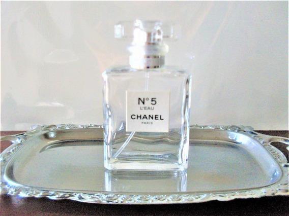 Vidro Vazio Do Perfume Francês Chanel Nº 5