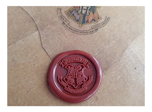 Carta Hogwarts Personalizada+boleto+mapa+sello Harry Potter