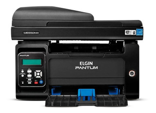 Impressora multifuncional Elgin Pantum M6550NW com wifi 100V - 127V preta