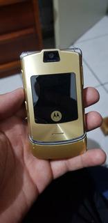 Motorola V3i Dourado