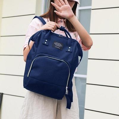 Bolsa Maternidade Azul Marinho 44 X 38 Cm Grande