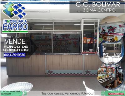 Venta De Fondo De Comercio C.c Bolivar Ve01-0004ab-mm