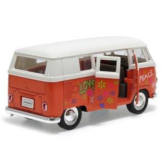 Miniatura Volkswagen T1 Bus 1963 Peace Colecionador - Novo
