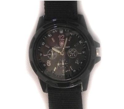 Reloj Negro Con Carátula En Color Negro Para Caballero