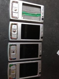 Lote 4 Celulares Nokia N95 (defeito) 1/19