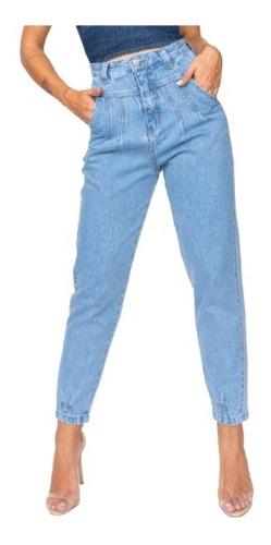 Imagem 1 de 5 de Calça Jeans Mom Feminina True