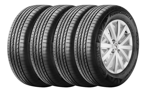 Kit 4 Cubiertas Continental 205/65 R15 Power Contact 2 94t C