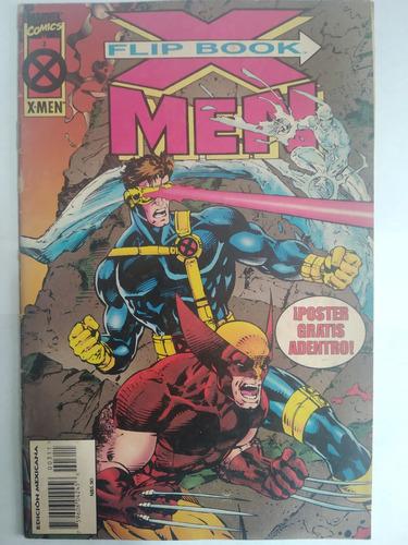X-men Flip Book 03 Marvel Mexico Intermex