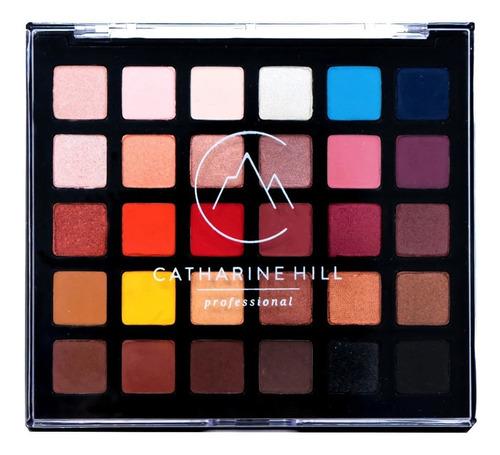 Imagem 1 de 5 de Estojo De Maquiagem Catarine Hill 30 Cores Profissional