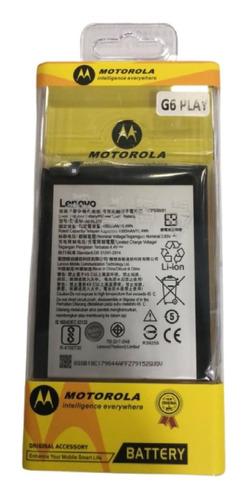 Imagen 1 de 1 de Batería Pila Para Modelo Motorola Moto G6 Play